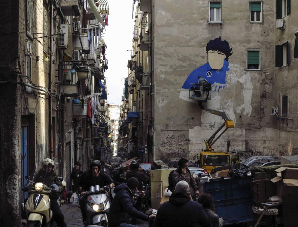 Murales Di Maradona Quartieri Spagnoli