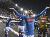 Il Napoli mette il Sassuolo ko, segnano Ounas e Insigne