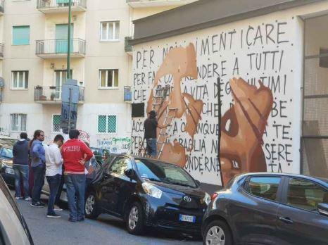 Napoli Jorit Aggredito Da Consigliere Municipale Di Fratelli D