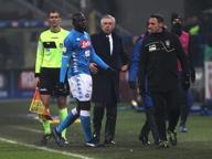 Cori razzisti, Ancelotti: «Non è un problema del calcio ma dell'Italia. Regola su stop a partite va rispettata»