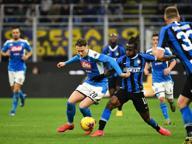 Napoli, colpaccio al Meazza contro l'Inter: decide Fabian Ruiz
