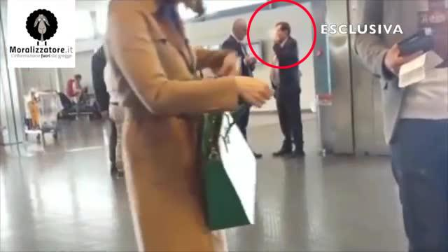 Sala Fumatori Aeroporto Palermo : Crocetta u cpizzicatou d mentre fuma all aeroporto di palermo