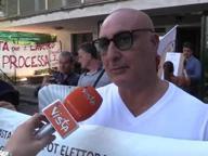 M5s, protesta dei dissidenti alla mostra d'Oltremare
